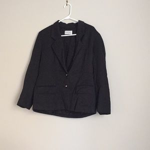 Jackets & Blazers - Vintage black blazer size 12